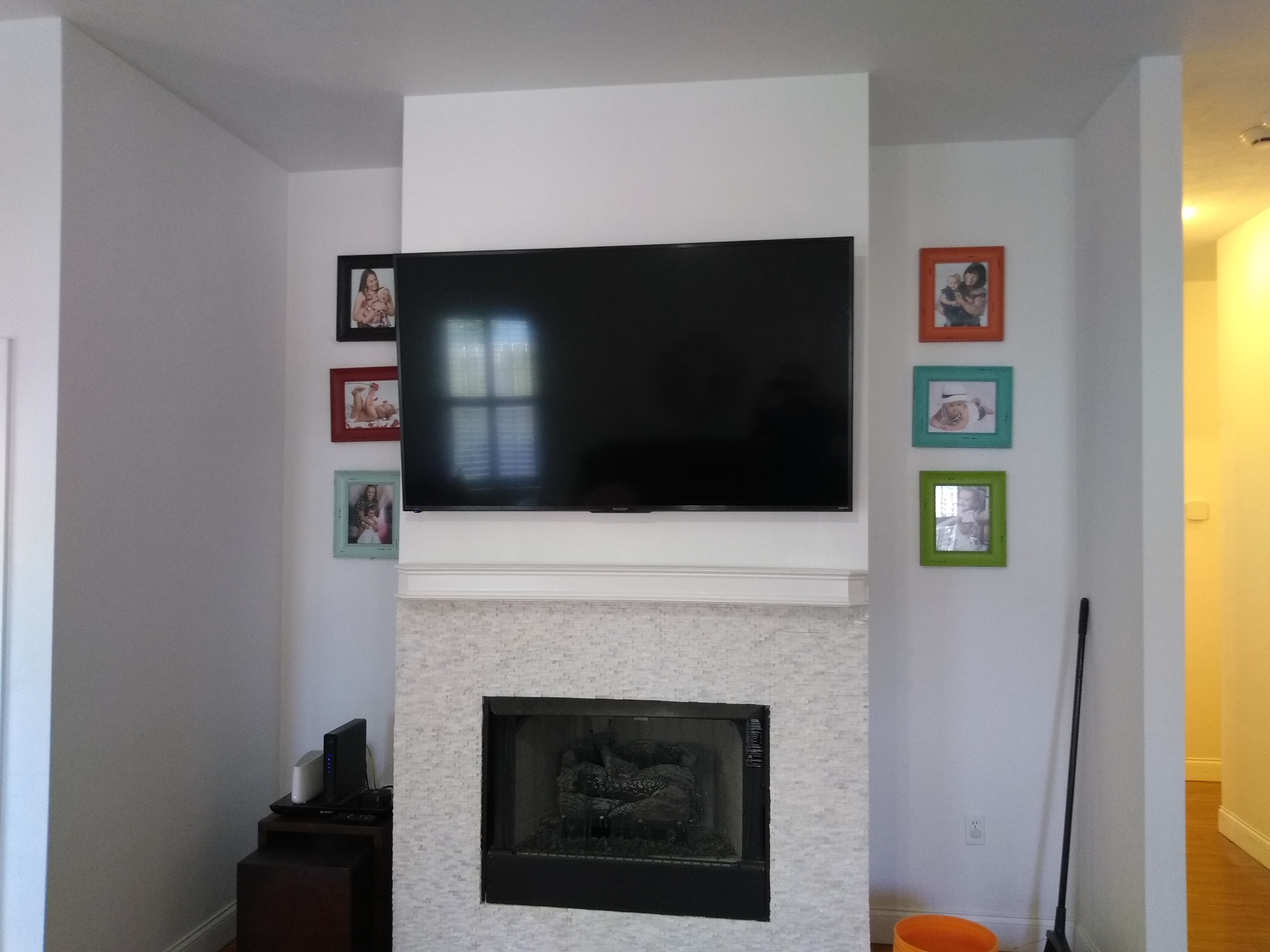 tv wall mount installation guide what where who right handy man. Black Bedroom Furniture Sets. Home Design Ideas